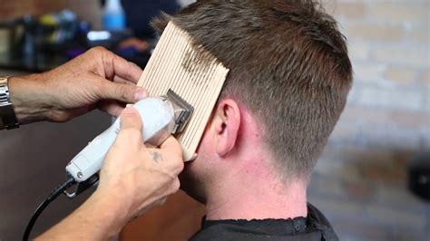 step  step guide  cutting mens hair  sharp mens hair youtube