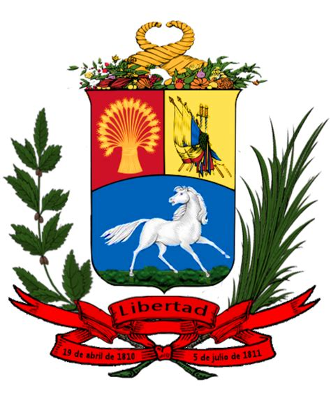 File:Escudo de Venezuela 1836 1863 svg Wikimedia Commons