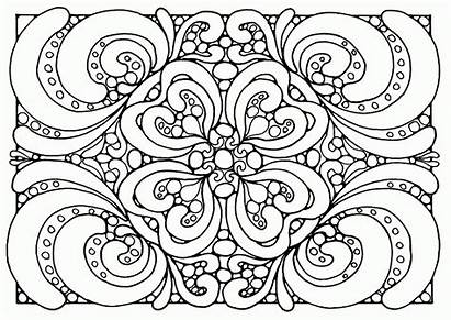 Coloring Pattern Pages Floral