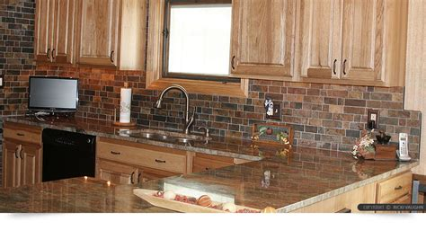 slate tile kitchen backsplash brown slate mosaic backsplash tile for traditional 5323