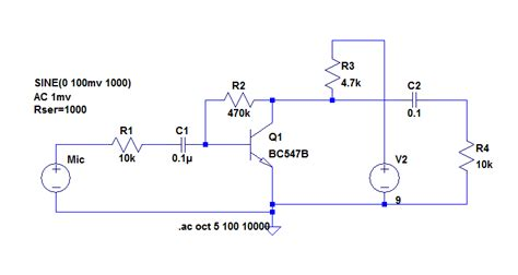Simple Preamp For Dynamic Capsules Suit Radios Using