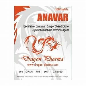 Anavar 10 10mg  100 Pills  For Sale From Usa By Dragon Pharma