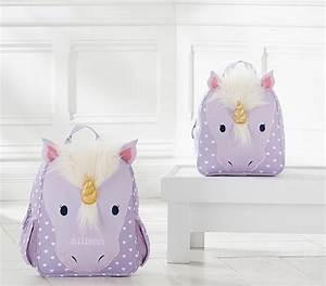 Classic Critter Unicorn Backpacks Pottery Barn Kids