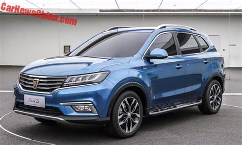 This is the new Roewe RX5 SUV from China - CarNewsChina.com