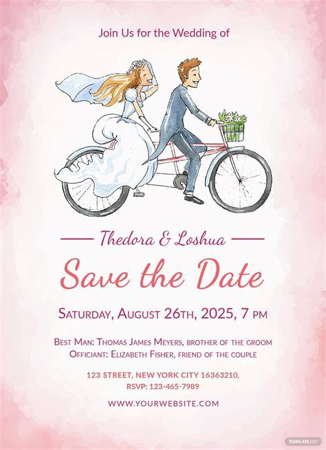 30 Free Wedding Invitation Template Cards Printable And