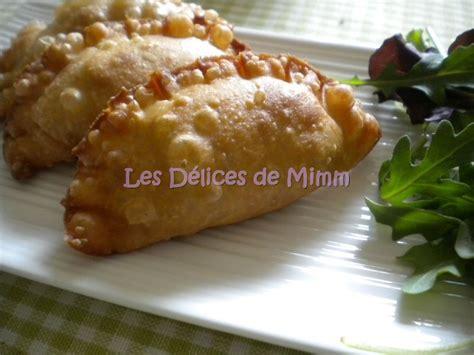 recette de cuisine libanaise avec photo samboussik à la viande à la libanaise rissoles à la