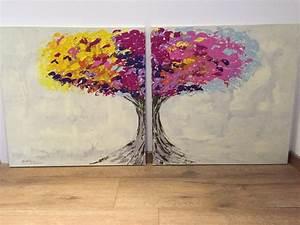 Bilder Kinderzimmer Selber Malen : insirationen in acryl kreative bilder selber malen diy zenideen ~ Fotosdekora.club Haus und Dekorationen