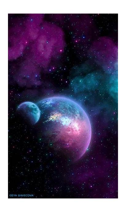 Galaxy Aesthetic Space Backgrounds Wallpapers Iphone Computer