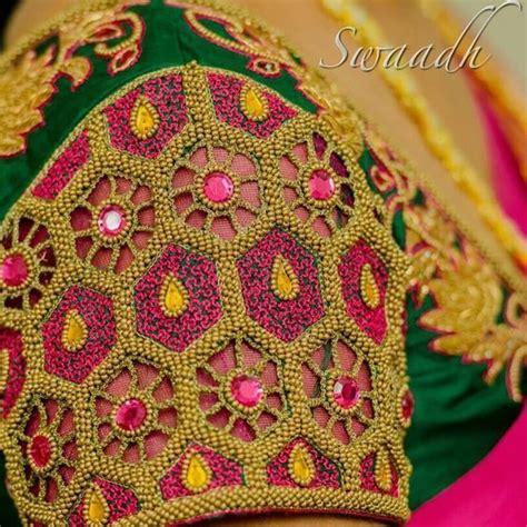 bridal blouse designs  silk sarees pattu sarees