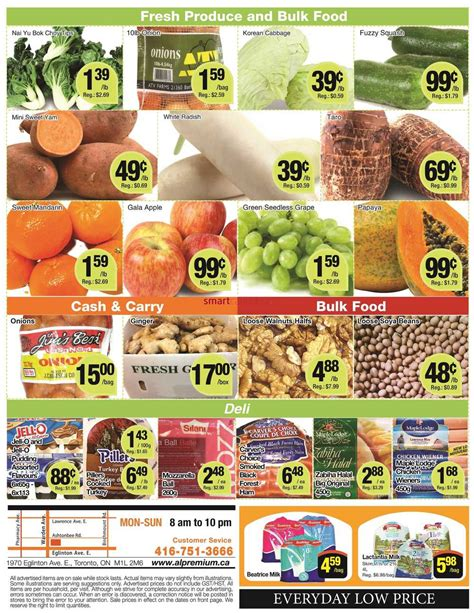 premium cuisine al premium food mart flyer october 6 to 12