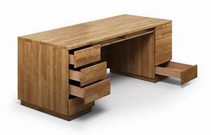 Schreibtisch Massivholz Eiche : columbus aus eiche schreibtisch nach ma ~ Whattoseeinmadrid.com Haus und Dekorationen