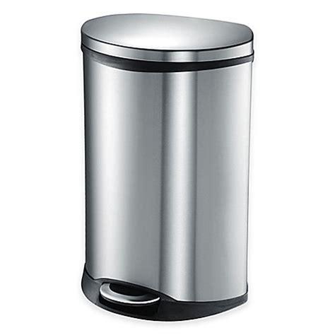 eko shell stainless steel semi   liter soft close
