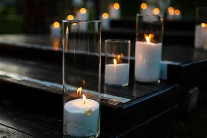 Candles Glass Hurricane Winter Lighting Candle Decor