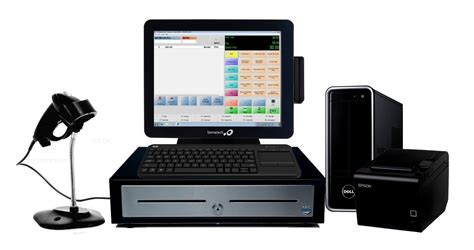 Pcamerica Cash Register Express Retail Pos System W/msr