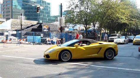 Lamborghini Gallardo Vs F430 by Lamborghini Gallardo Lp560 Spyder Vs F430 Spider