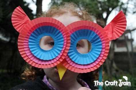 diy halloween mask crafts  kids hative