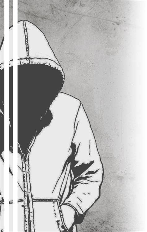 anime lonely girl  hoodie drawing gambarku