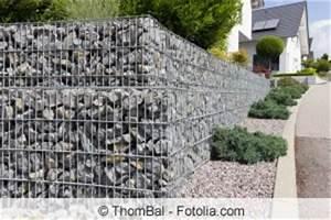 Gitter Für Steine : gabionen aufstellen und befestigen mit und ohne fundament ~ Michelbontemps.com Haus und Dekorationen