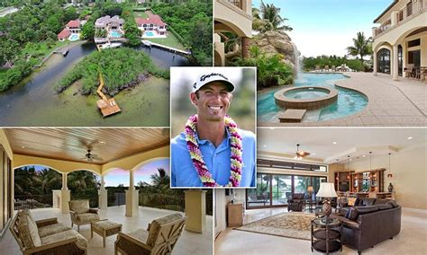 dustin johnson snaps  palm beach florida mansion