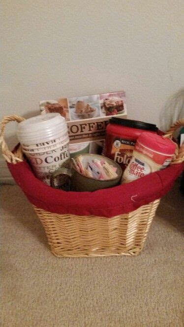 Gourmet coffee gift baskets are filled with a variety of gourmet flavored coffees, italian specialty cookies, and sweet treats for that special friend you know. My coffee gift basket. Got the cups from cheap from ...