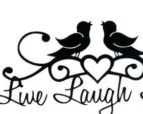 birds wedding cake topper live laugh metal sign with song birds and heart