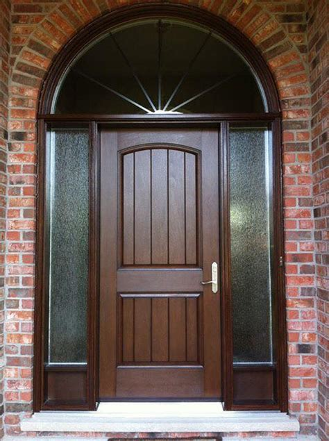 elegant fiberglass door heritage renovations