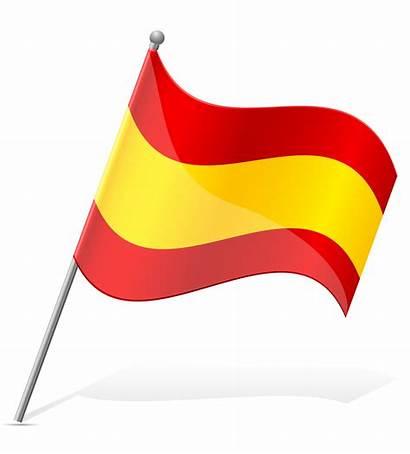 Flag Spain Vector Clipart Illustration