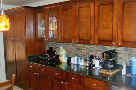 Multi Wood Kitchen Cabinets by Meet The Mighty Saguaro Remodeling