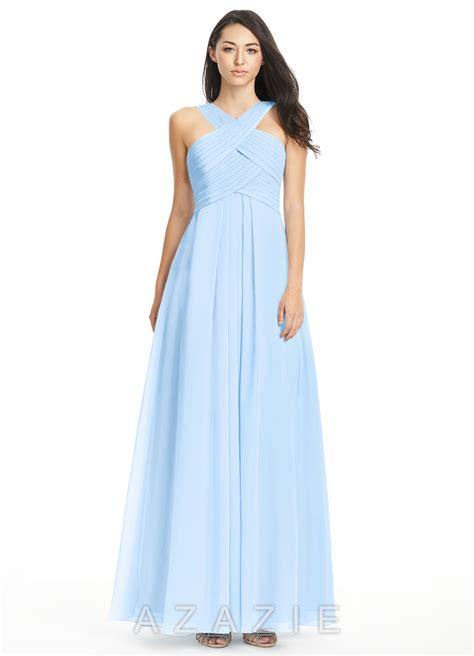 pink dres v pale blue chiffon bridesmaid dresses www pixshark