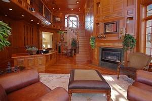 Handsome, Wood, Panelling, In, This, Office, Den, Area