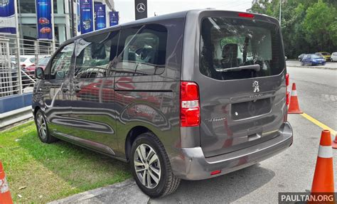 Peugeot Traveller Spotted Ahead Of Msia Q3 Launch Image
