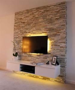 Wohnzimmer Tv Wand Ideen : 1001 ideen f r fernsehwand gestaltungen ideen und ~ A.2002-acura-tl-radio.info Haus und Dekorationen