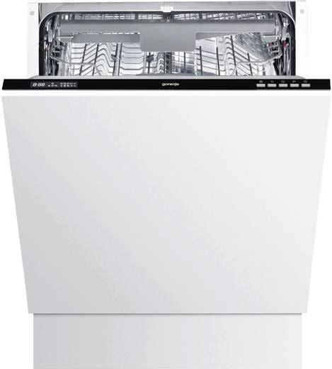 spülmaschine 60 cm vollintegrierbar einbau geschirrsp 252 ler 60 cm gorenje gv63315 a vollintegrierbar