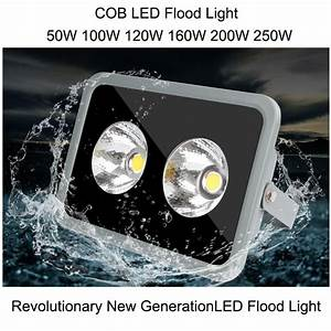 W led floodlight spotlight