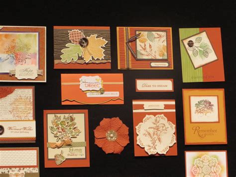 stampin  convention display board samples