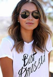 35 new medium long hair styles hairstyles haircuts for Hair color letters