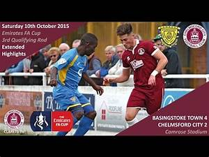 Emirates FA Cup: Basingstoke Town 4 vs 2 Chelmsford City ...