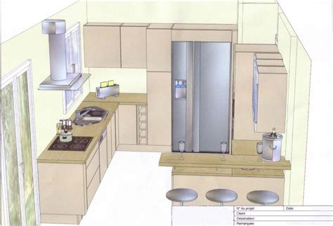 plan de cuisine cuisine notre maison à moussy