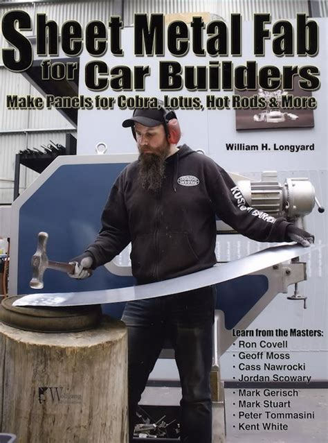 sheet metal fab for car builders fab howto book wp338