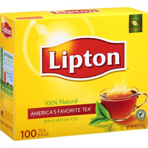 Lipton Black Tea Caffeine