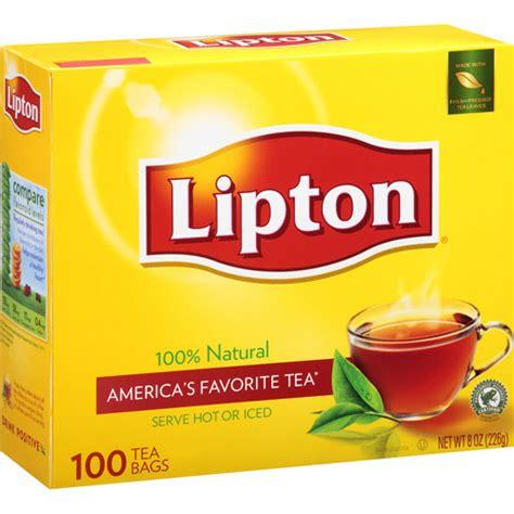 Lipton Black Tea Caffeine