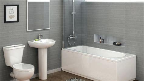 Bathroom Suites Straight Bath Suite Modern Bathroom Suites