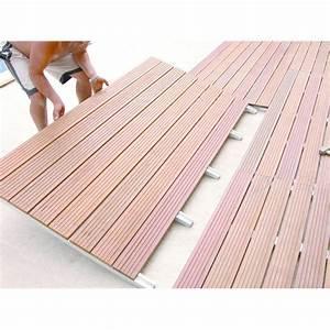 Support Terrasse Bois : terrasses modulaires bois ou composite sur structure acier ~ Premium-room.com Idées de Décoration