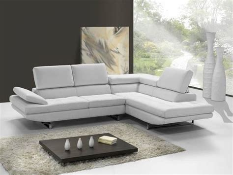 canapé d angle blanc photos canapé d 39 angle cuir blanc italien