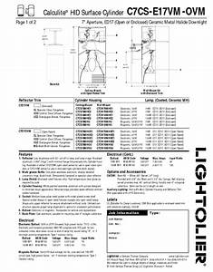 Calculite Hid Surface Cylinder C7cs
