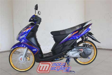 Motor Mio Soul Thailook by Modifikasi Mio Soul 2011 Indragiri Hulu Dikombo Bodi
