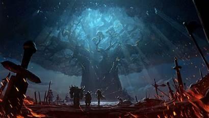 4k Warcraft 8k Azeroth Battle Wallpapers 1080