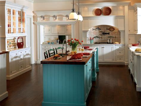 kitchen cabinets with different color island 25 tips for painting kitchen cabinets diy network blog