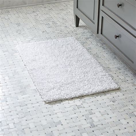 White Bath by Loop White Bath Rug Crate And Barrel