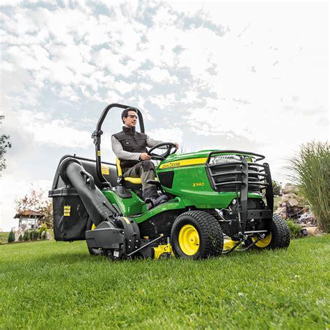 diesel lawn tractor deere x940 diesel lawn tractor with 60 quot deck 3322